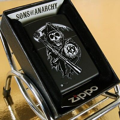 Zippo Lighter Sons of Anarchy BNWT # 28504