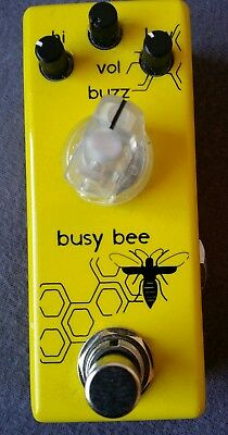 Movall Busy Bee Booster Overdrive Pedal (Xotic AC Clone)