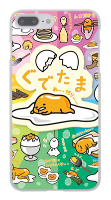 Gudetama Lazy Egg Sanrio Emoji Cute Kawaii Hard Cover Case For iPhone Huawei New
