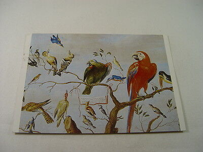 OZ1473 - Postcard - The Chorus of Birds Jan van Kessel Senior 1983