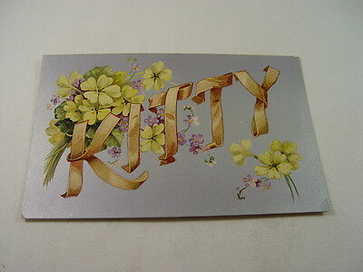 OTH198 - Girls Name Postcard - Kitty