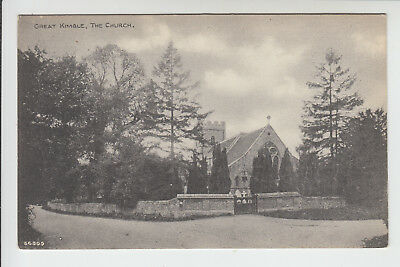 Buckinghamshire: Great Kimble, The Church - PC (P150)