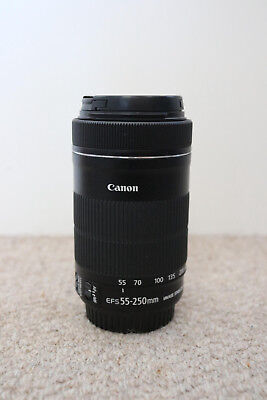 Canon 55-250mm IS STM lens