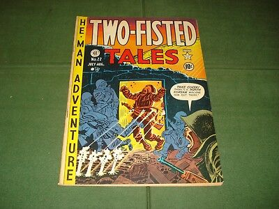 Two Fisted Tales #22, Ec Comic, 1951,  Nice Shape, Original