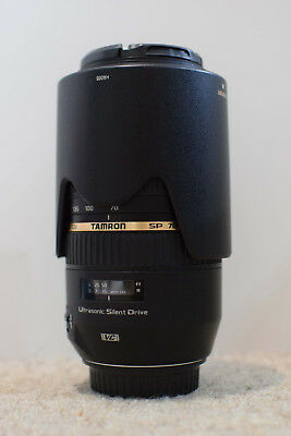 Tamron SP 70-300mm f/4.0-5.6 VC Lens for Canon