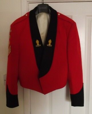 British Army Snco Complete Mess Dress Jacket, Waistcoat & Trousers
