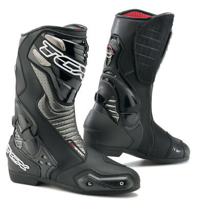 TCX S-Speed Sports Touring Motorcycle Motorbike Boots - Black / Graphite RRP£169