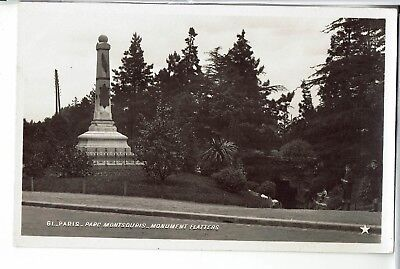 CPA - Carte postale - FRANCE - PARIS -Parc Montsouris -Monument Flatters (iv 77)