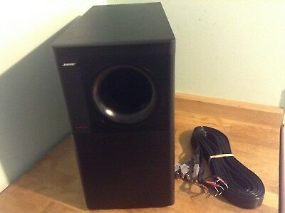 Bose acoustimas 6 ll subwoofer  with speakers cable only