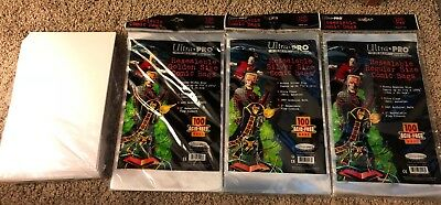 Ultra Pro Resealable Comic Book Bags And Boards