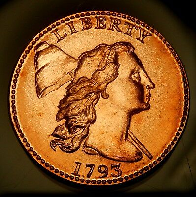 1793 Liberty Cap Large Cent - Gallery Mint Issue !!