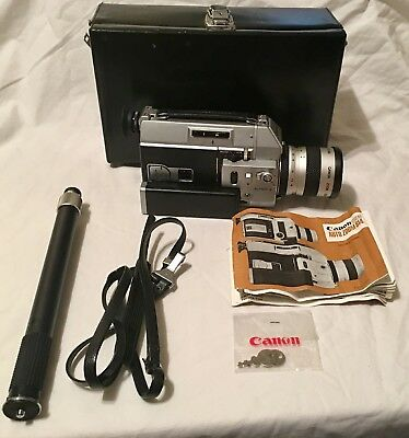 CANON 814 Super 8MM MOVIE CAMERA Powers ON
