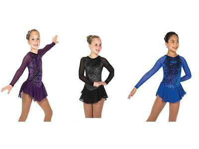 New Jerry's FIgure Skating Dress 153 Diamond Chips Available In 3 Colours