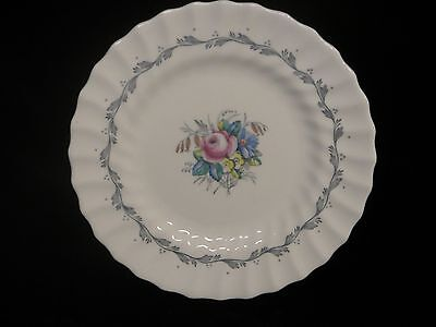 "Royal Doulton Bone China ""The Chelsea Rose"" 6 1/4"" Bread & Butter Plate- H4801"