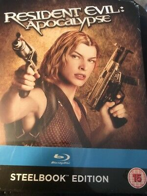 Resident Evil Apocalypse - Limited Edition Steelbook (Blu-ray) NEW
