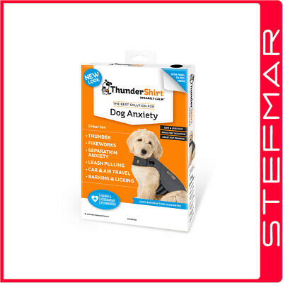 """Thundershirt for Dogs Grey Small Chest Size 17-21"""""""