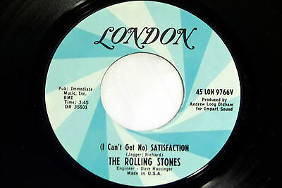 Rolling Stones: Satisfaction / The Under Assistant West Coast...[Unplayed Copy]