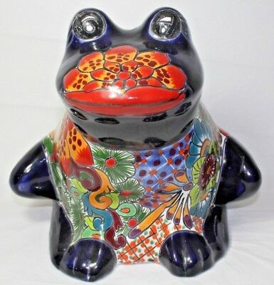 Castillo Mexican Large Frog Planter