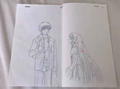 Chobits Chi And Hikedi Cel Sketches