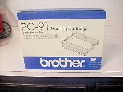 Brother Pc-91 Fax Printing Cartridge