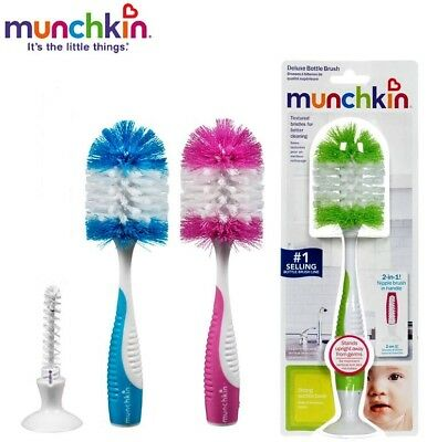 Munchkin Bottle And Nipple Brush  UK SELLER-FREE P+P RRP £14.99