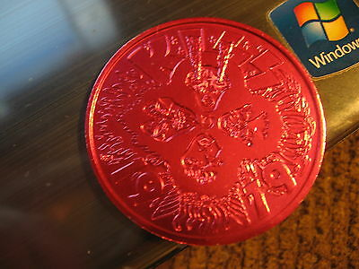 kiss band gene simmons paul stanley 1979 Mardi Gras Doubloon Coin new orleans