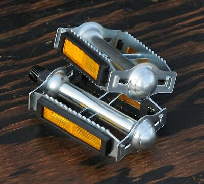 """9/16"""" Classic Rat Trap Road Bike PEDALS Vintage Raleigh Tour BMX Cruiser Bicycle"""