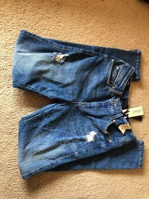 Forever New Hannah Low Rise Skinny Crop Jeans Size 8