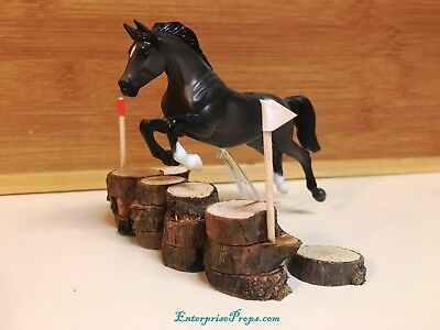 LSQ 1/32 Scale Breyer Model Horse Cross Country Jump. Performance Prop