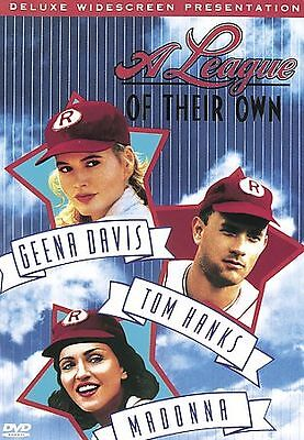 A League of Their Own  (DVD, 1997, Widescreen)  Tom Hanks, Madonna Brand New!