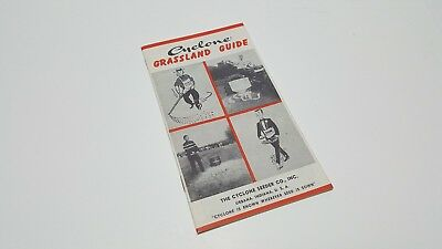 Cyclone seeder Co. seed sower  Grassland Guide  Urbana Indiana
