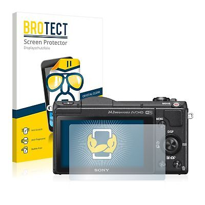 Sony Alpha 5100 (DSLR-A5100), 2 x BROTECT® HD-Clear Screen Protector hard-coated