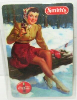 Girl Skater Coca Cola Phone Card 10minutes WITH Smiths logo Coke Phone Home Free