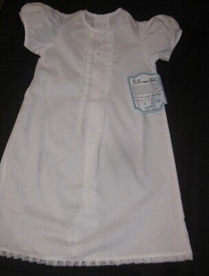 Remembering Nguyen size 9 mos Beautiful White Christening Gown - New with Tags!
