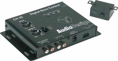 AUDIODESIGN CH 25 By IMPACT - PROCESSOR DIGITAL BASS CONTROLLER