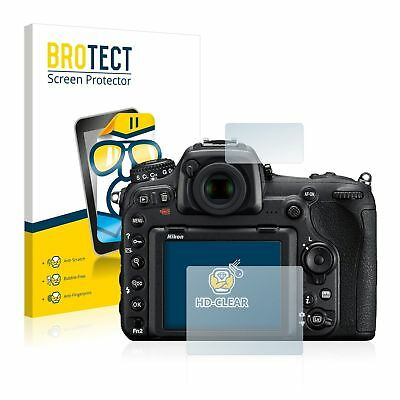 Nikon D500, 2 x BROTECT® HD-Clear Screen Protector, hard-coated, Anti-Scratch