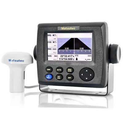 "HP-33A 4.3"" Color Matsutec LCD Class B AIS Transponder Combo High Marine GPS PDP"