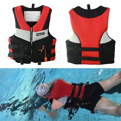 Adults Life Jacket Universal Swimming Boating Skiing Drifting Foam Vest DP