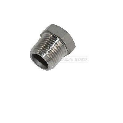 Male x Female Thread Reducer Bushing Pipe Fitting Stainless Steel SS 304 BSP 1pc