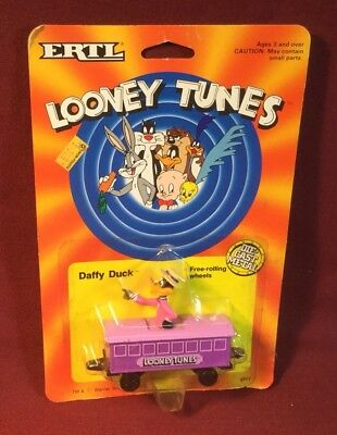 Ertl Looney Tunes Daffy Duck Train Passenger Car Mib