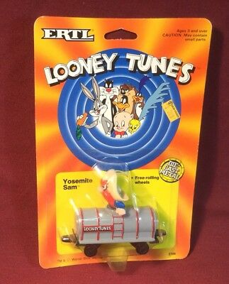Ertl Looney Tunes Yosemite Sam Train Tanker Car Mib