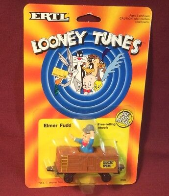 Ertl Looney Tunes Elmer Fudd Train Box Car Mib