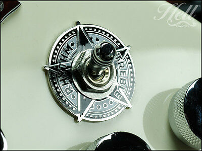 """""""STAR"""" Rhythm Treble Switch Washer Ring. Most Gibson, Epiphone Les Paul, SG More"""