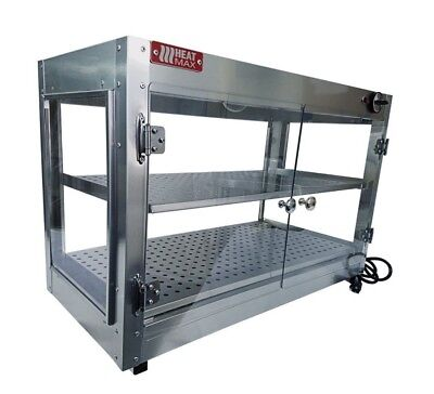 Commercial Food Warmer HeatMax 30x15x24  Pizza Pastry Patty Display Case