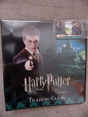 Harry Potter and the ORDER OF THE PHOENIX Folder/ Binder and 2 Promo Cards