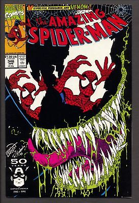 Amazing Spider-man #346, FN/VF 7.0, Venom