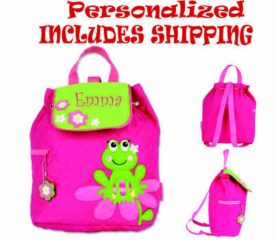 PERSONALIZED STEPHEN JOSEPH Toddler FROG