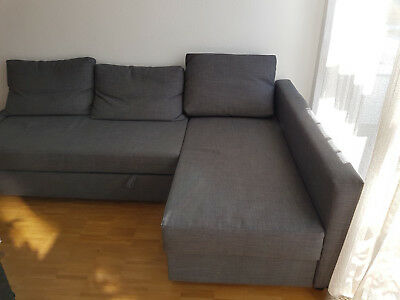 ikea bettsofa friheten schlafsofa eur 1 00 picclick de. Black Bedroom Furniture Sets. Home Design Ideas