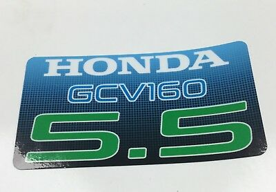 Honda GCV160 (non-genuine) replacement decal/sticker or Honda GX decal  FREE P&P