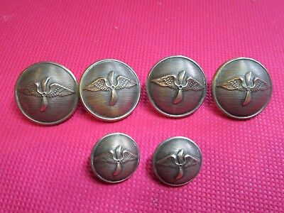 lot BOUTONS AREONAUTIQUE MILITAIRE 1915